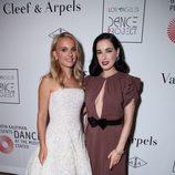 Natalie Portman y Dita Von Teese en la fiesta tras el estreno de 'L.A. Dance Project'