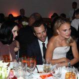 Natalie Portman, Benjamin Millepied y Dita Von Teese tras el estreno de 'L.A. Dance Project'