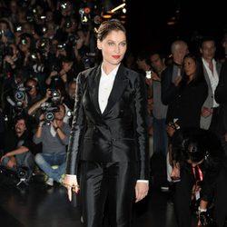 Laetitia Casta en el desfile de Dolce&Gabbana en la Semana de la Moda de Milán