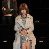 Anna Wintour en el desfile de Dolce&Gabbana en la Semana de la Moda de Milán