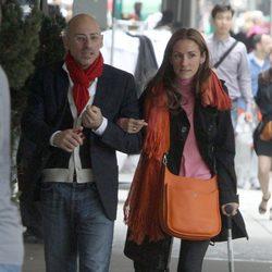 Jaime del Burgo y Telma Ortiz durante su estancia en Nueva York