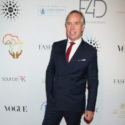 Tommy Hilfiger en el almuerzo Fashion 4 Development's en Nueva York