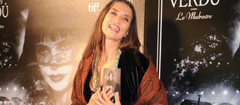 Ángela Molina en el estreno de 'Blancanieves' en Barcelona