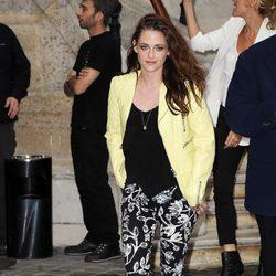 Kristen Stewart en la Semana de la Moda de París primavera/verano 2013