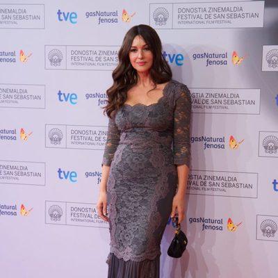 Mónica Bellucci en el Festival de Cine de San Sebastián 2012