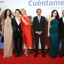 El elenco de 'Cuéntame cómo pasó' en el Festival de San Sebastián 2012