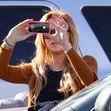 Lindsay Lohan, fotógrafa con su iPhone