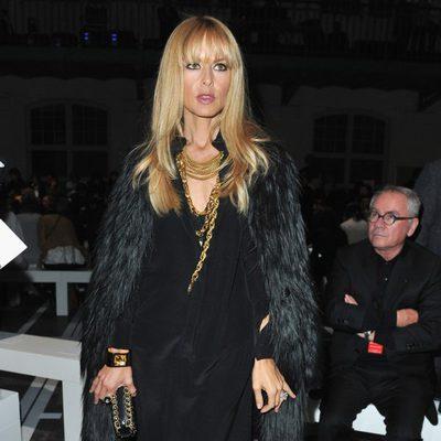 Rachel Zoe en el desfile de Givenchy de la Semana de la Moda de París