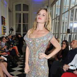 Georgia May Jagger en la Semana de la Moda de París primavera/verano 2013