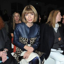 Anna Wintour en el desfile de Givenchy de la Semana de la Moda de París