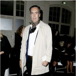 Jaime de Marichalar en el desfile de Givenchy de la Semana de la Moda de París