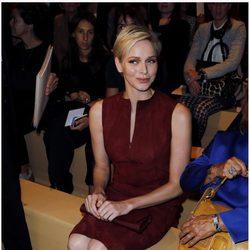 La Princesa Charlene de Mónaco en la Semana de la Moda de París