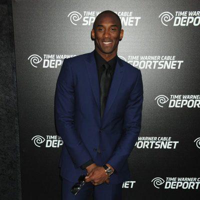 Kobe Bryant en la presentación del canal Time Warner Sports