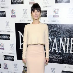 Maribel Verdú en el estreno de 'Blancanieves' en Madrid