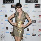 Angy en los Premios del Teatro Musical 2012