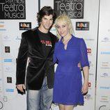 Geraldine Larrosa 'Innocence' y Sergio Arce en los Premios del Teatro Musical 2012