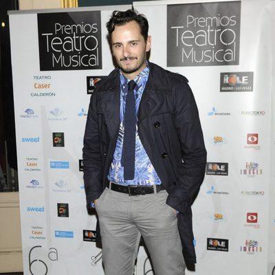 Asier Etxeandía en los Premios del Teatro Musical 2012