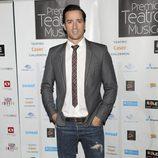 Pablo Puyol en los Premios del Teatro Musical 2012