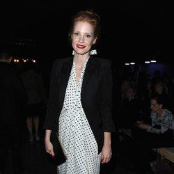 Jessica Chastain en la Semana de la Moda de París primavera/verano 2013