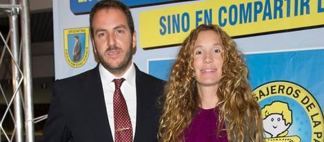 Borja Thyssen y Blanca Cuesta en la cena del 50º aniversario de 'Mensajeros por la Paz'