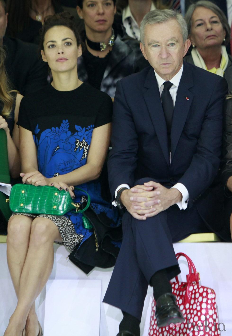 Bérenice Bejo en el front row de la Semana de la Moda de París