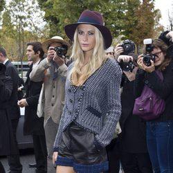 Poppy Delevingne en la Semana de la Moda de París