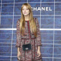 Laura Hayden en el desfile de Chanel de la Semana de la Moda de París