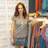 Nerea Garmendia en la inauguración de la tienda Indi & Cold en Madrid
