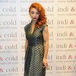 Neus Asensi en la inauguración de la tienda Indi & Cold en Madrid