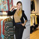 Laura Sánchez en la inauguración de la tienda Indi & Cold en Madrid