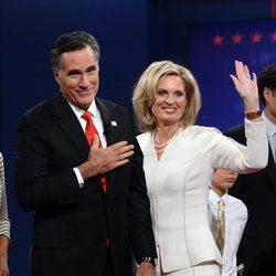 Mitt Romney y su mujer Ann Romney
