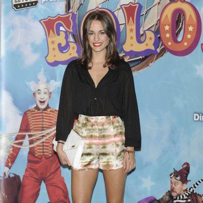 Silvia Alonso en el estreno de 'Eoloh!'