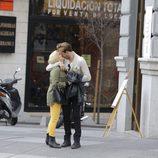 Soraya Arnelas y Miguel Herrera, muy cariñosos por Madrid