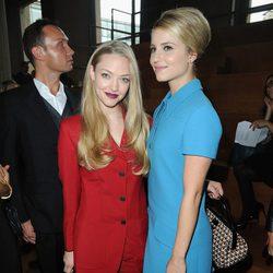 Dianna Agron y Amanda Seyfried con Miu Miu en la Semana de la Moda de París