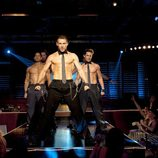 Los strippers de la película 'Magic Mike'