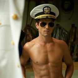 Matt Bomer con el torso desnudo en 'Magic Mike'