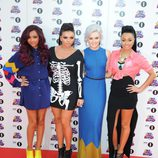 Jade Thirlwall, Jesy Nelson, Perrie Edwards y Leigh-Anne Pinnock en los Teen Awards 2012