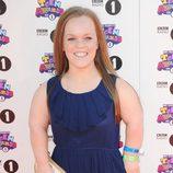 Ellie Simmonds en la alfombra roja de los Teen Awards 2012