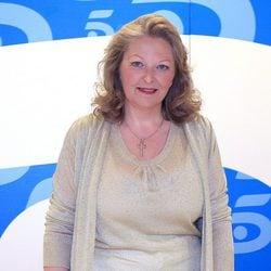 La médium Anne Germain en el plató de Telecinco
