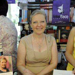 Anne Germain en la Feria del Libro de Madrid el pasado mes de junio de 2012
