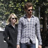 Andrew Garfield y Emma Stone de compras por Hollywood