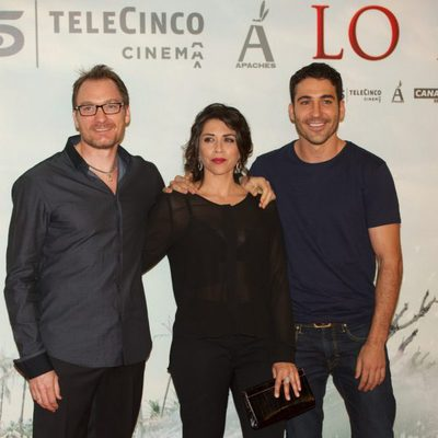 Ben Temple, Alicia Borrachero y Miguel Ángel Silvestre en el estreno de 'Lo Imposible' en Madrid