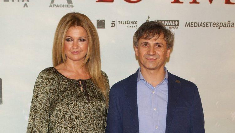José Mota y Patricia Rivas en el estreno de 'Lo Imposible' en Madrid