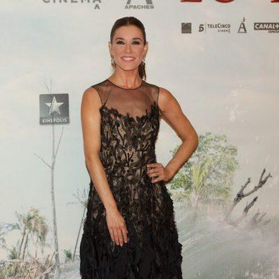 Raquel Sánchez Silva en el estreno de 'Lo Imposible' en Madrid