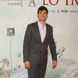 Daniel Muriel en el estreno de 'Lo Imposible' en Madrid