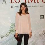 María José Suárez en el estreno de 'Lo Imposible' en Madrid