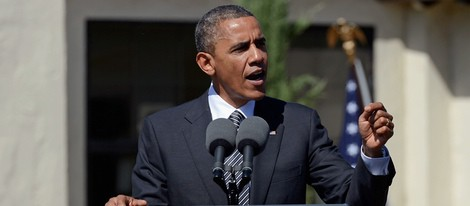 Barack Obama en el homenaje a César Chávez