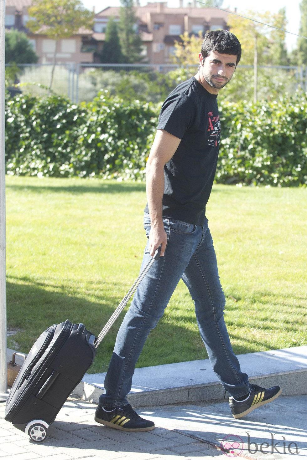Raúl Albiol se concentra con la Selección Española en Las Rozas