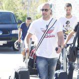 Pepe Reina se concentra con la Selección Española en Las Rozas