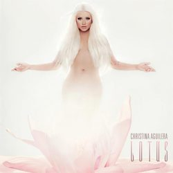 Portada oficial de 'Lotus', el séptimo disco de Christina Aguilera